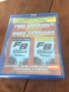 The fast and the furious 8 Blu-ray set