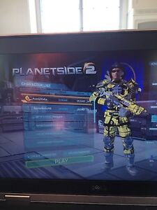 Planetside 2 account on Emerald BR34