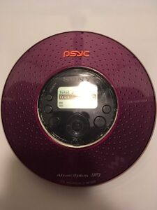 SONY PSYC DISCMAN, AM/FM TUNER, MP3 COMPATIBLE, BARELY USED