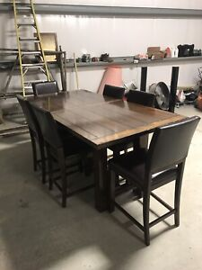 Dining table and Hutch, combo or separate