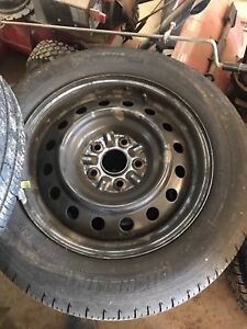 Toyota Camry rims and tires