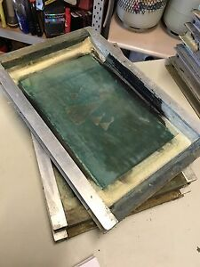 Screen printing equipment paint frames press One Tree Hill Playford Area Preview
