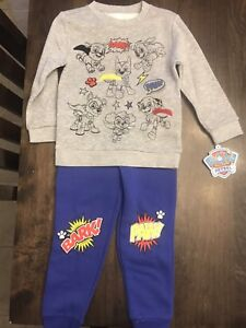 Brand new paw patrol size 4T outfit