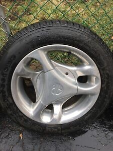 """16"""" American Racing rims and tires"""