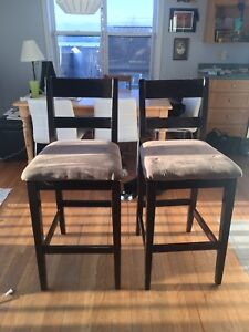 Pair of barstools, want gone. Taking Marie Kondo approach!