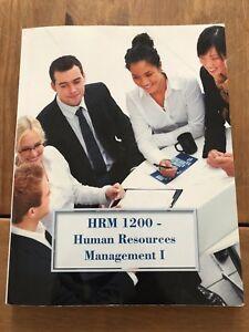 HRM 1200 - Human Resources Management 1.