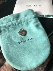 Return To Tiffany Heart Charm