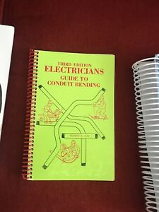 Electricians pipe bending book