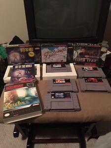 SNES games Super Nintendo