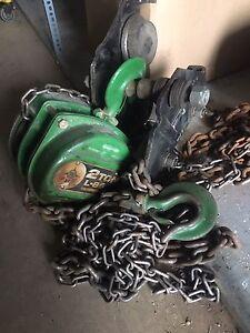 2 tone chain winch