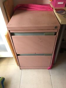 Pink Filing Cabinet Bellbird Park Ipswich City Preview