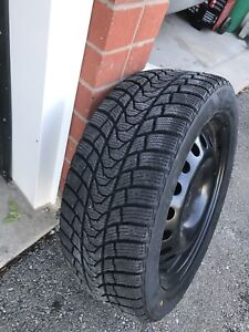 Winter tires and rims 225/5017
