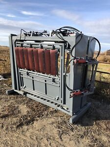 Refurbished Silencer Cattle Processing Chute