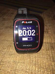 Montre polar m400 avec moniteur cardiaque