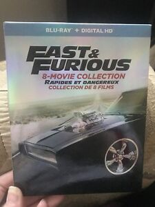 Fast and furious blue-ray box set