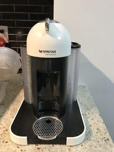 Nespresso Vertuoline Coffee Machine White with capsules