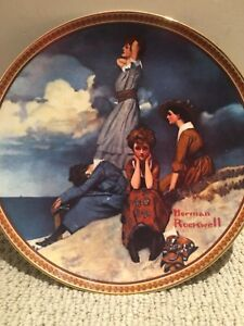 NORMAN ROCKWELL limited addition plates