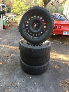 17 inch winter tires on rims $550