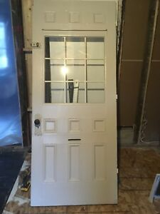 Antique Door 33 3/4 by 81 3/4