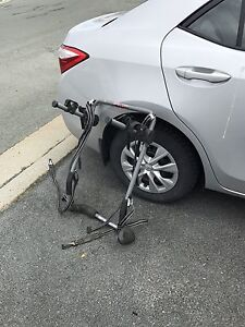 Bicycle carrier for car