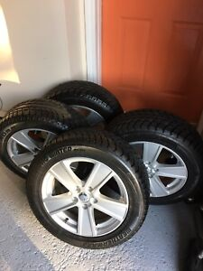 VW Aftermarket  RTX alloy rms with snow tires