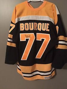 Autographed Ray Borque Jersey