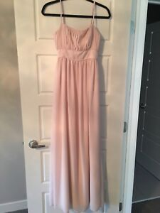 Bridesmaid gown size small