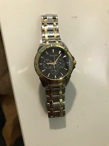 Bulova Gold Watch— Men's