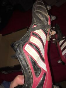 Adidas Flanker Rugby Cleats size 10.5 (Will be cleaned)