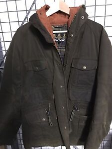 Barbour Wessex waxed jacket size medium
