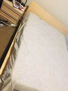 Double Bed for Sale - IKEA Malm