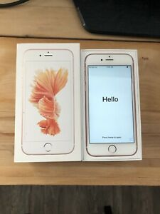 Rose Gold IPhone 6s 64gb Factory Unlocked Perfect Condition