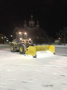 12ft heavy duty sectional snow plusher