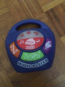 Music player toy