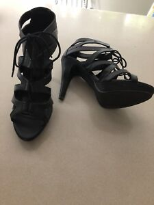 Lace up heels 10