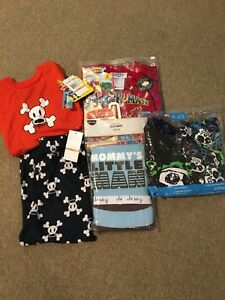 Boys lot pjs size 3 to 5 brand name new with tags