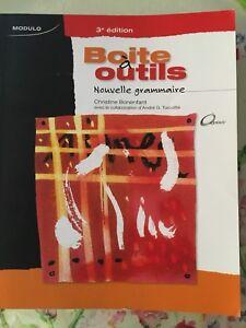 Livre grammaire Boîte outils 3ème édition