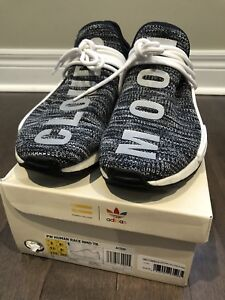 Adidas Pharrell Williams Human Race NMD trail Oreo Sz 9