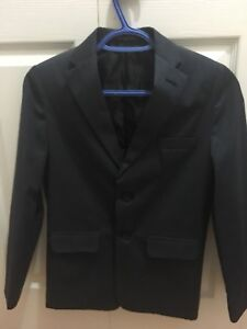 Boys size 12 navy brand new dress suit
