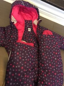 Size 5 children's Girls snowsuit