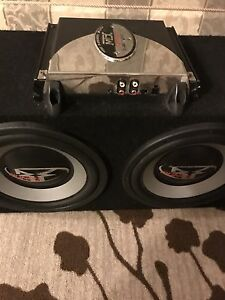 "^** ROCKFORD FOSGAE 10"" SUBS MTX AMPLIFIER ONLY 249!!"