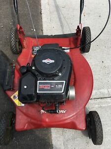 Gas Lawnmower needs blade starts up  $15