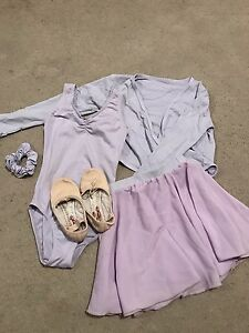 Lilac/ purple leotard, wrap, skirt, scrunchie and ballet shoes Salisbury Heights Salisbury Area Preview
