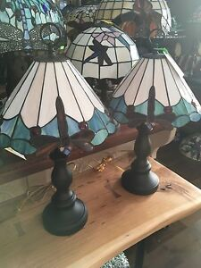 Stained Glass Dragonfly Lamp London Ontario image 1