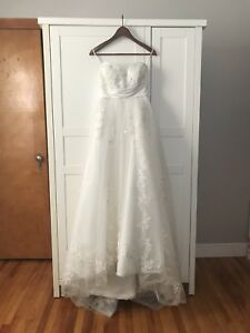 Pre-loved wedding bridal dress gown, small