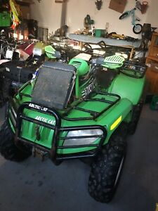 08 arctic cat 650 4x4