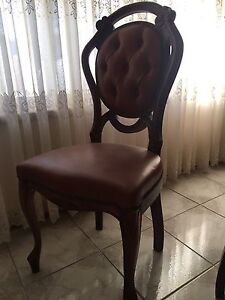 Antique Dining Room Chairs Payneham Norwood Area Preview