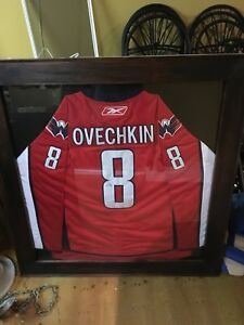 Cadre ovechkin signé