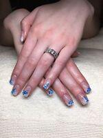 Beautiful affordable gel nails in Kelowna