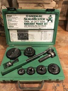 Greenlee slugbuster set